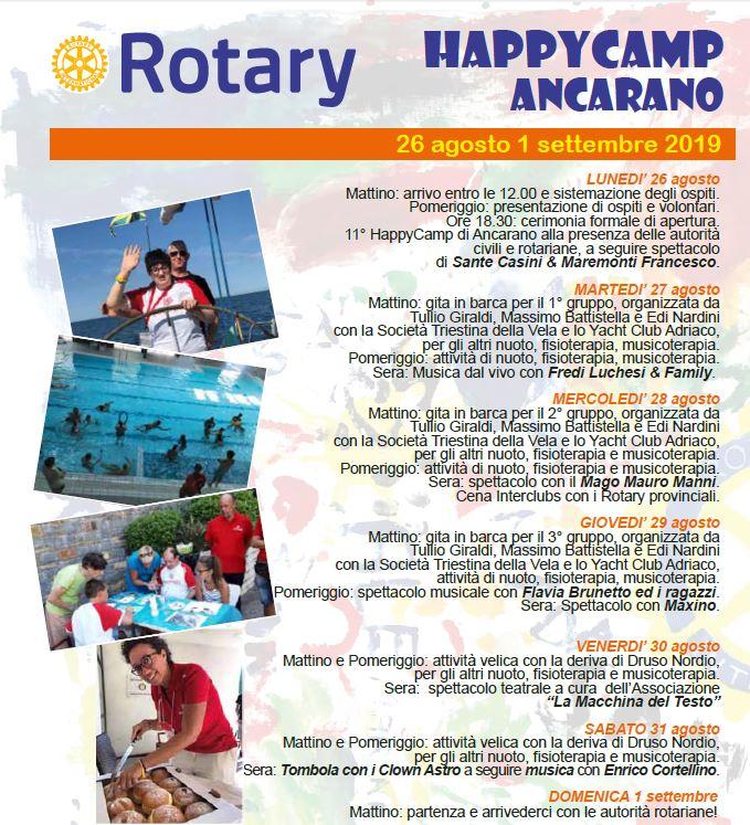 Milje Happy camp Ancarano